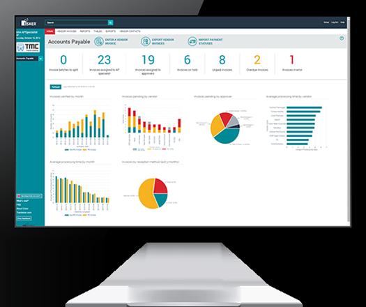 Accounts Payable Software Dashboard