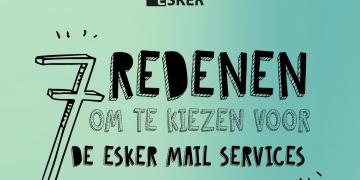 Infographic - 7 redenen om te kiezen voor de Esker Mail...